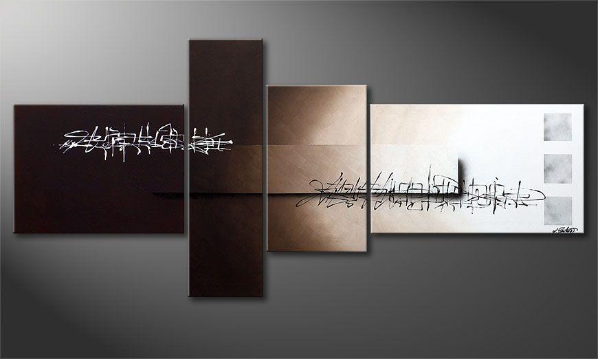 La toile XXL Between Night & Day 220x100x2cm