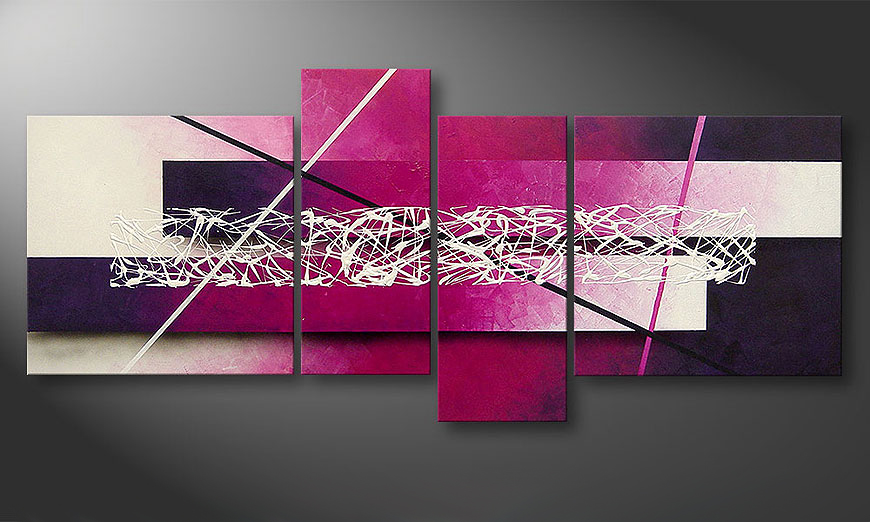 La toile moderne Connection 180x80x2cm