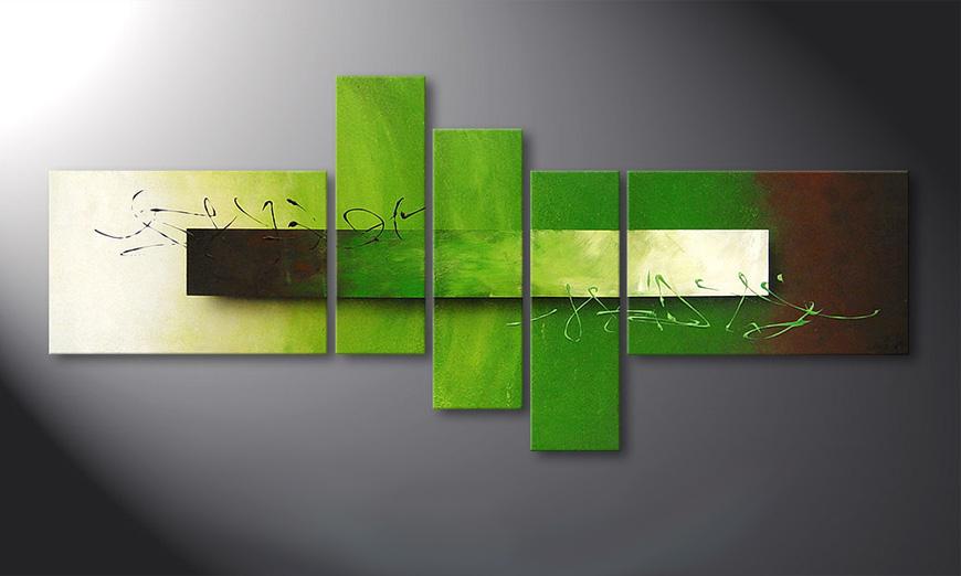 la toile pour salon endless meadow 180x80cm tableaux xxl