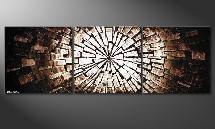 Le beau tableau Center of Babylon 150x50x2cm