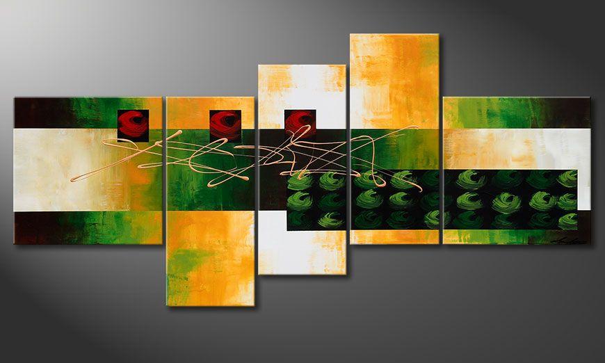 Le tableau Quiet Love 190x90x2cm