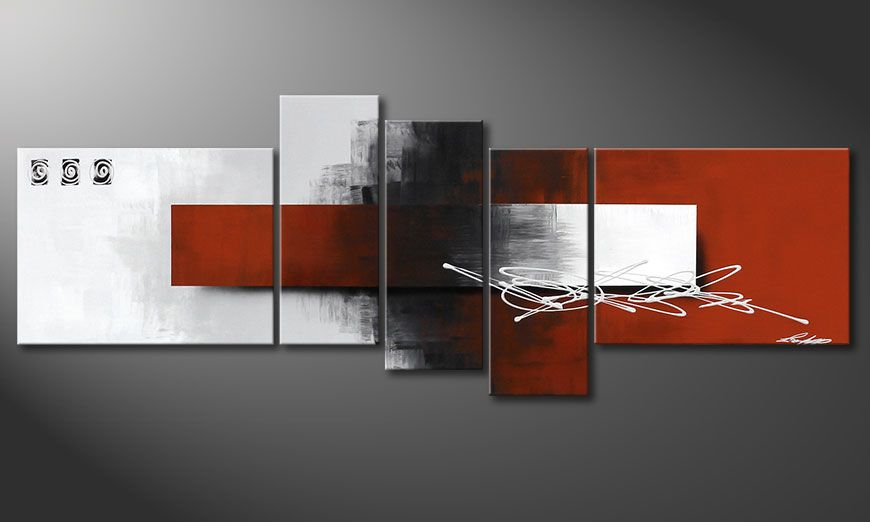 Le tableau insolite Follow your Dream 160x60x2cm