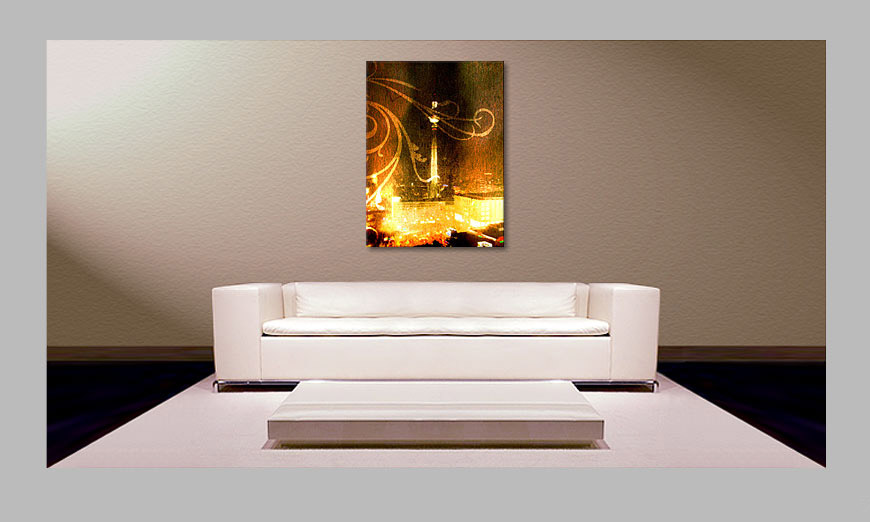 Le tableau moderne TV Tower 80x100cm