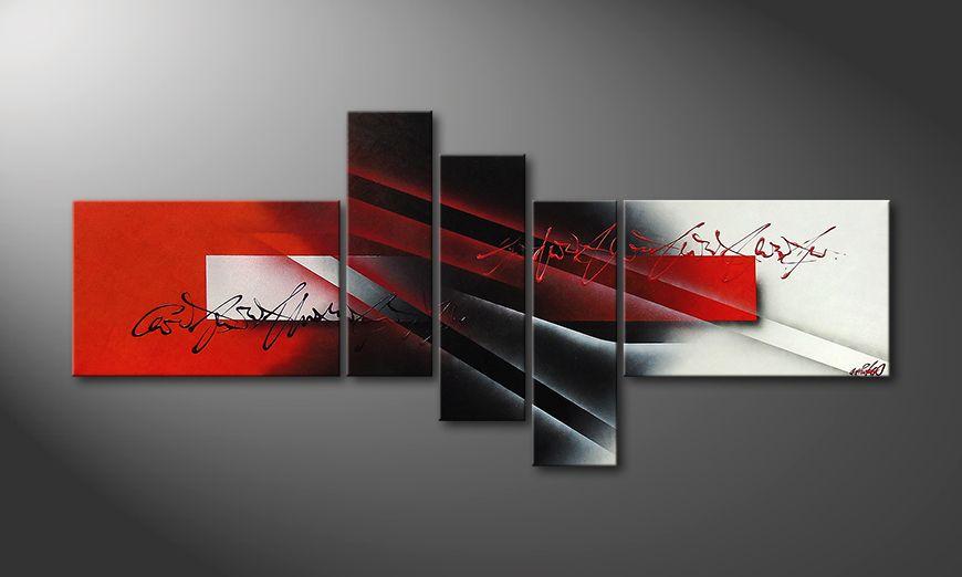 Le tableau moderneLights of Contrast 180x80x2cm