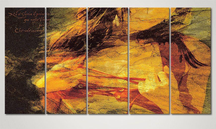 le tableau multi panneaux gloria 150x80cm tableaux xxl. Black Bedroom Furniture Sets. Home Design Ideas