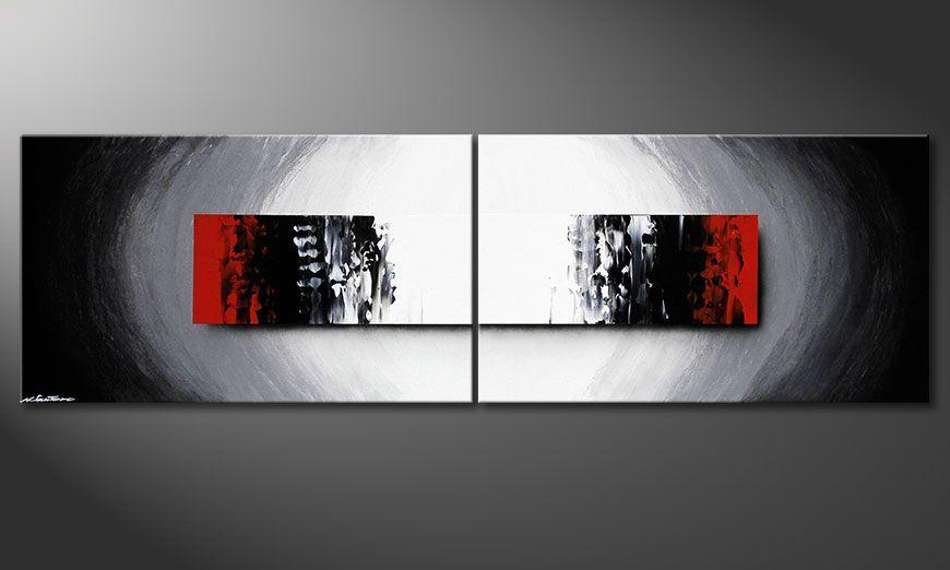 Le tableau mural Deep Space 200x60x2cm