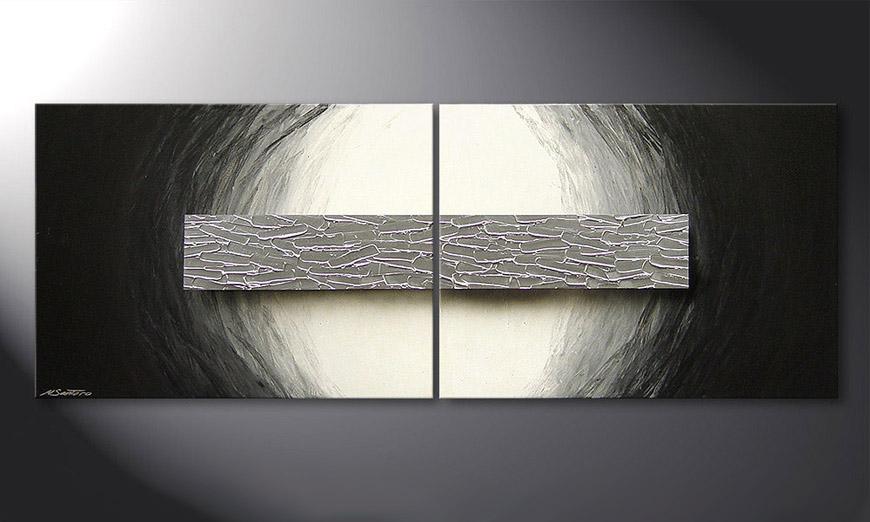 Cadre Mural Moderne Noir De Photos : Le tableau mural ice bloc cm tableaux xxl