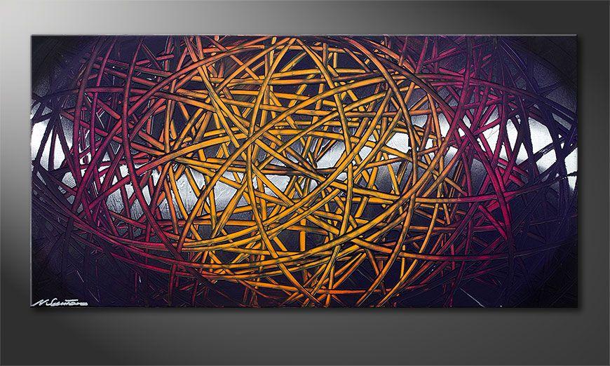 Le tableau mural Indian Moonlight 120x60x2cm