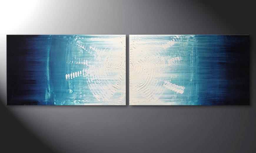 Le tableau mural Maelstrom 200x60x2cm