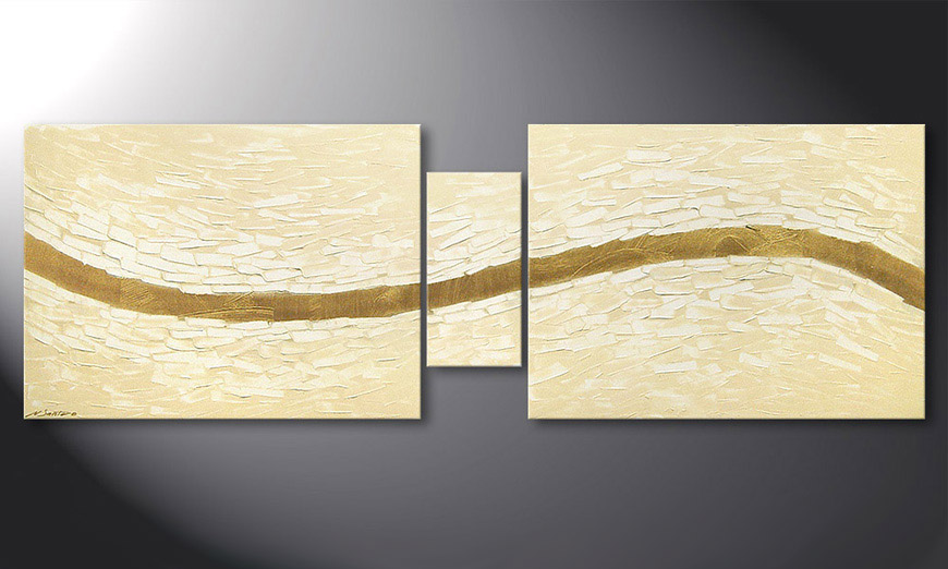 Le tableau mural Mellow River 180x60x2cm