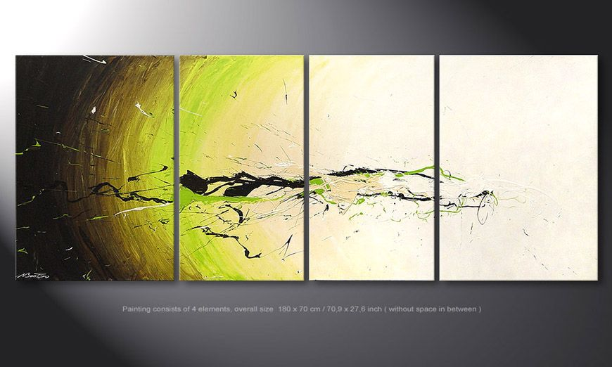 Le tableau mural Spirit of Nature 180x70x2cm