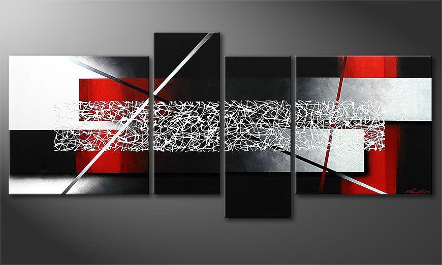Le tableau mural Sudden Inspiration 180x80x2cm