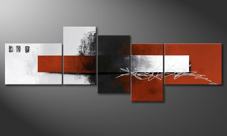 Notre peinture XXL Follow your Dream 260x90x2cm