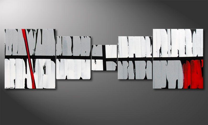 Power of Emotions 230x70x2cm Tableau contemporain
