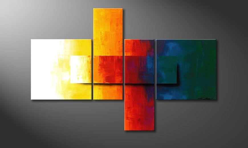Renouveau de déco avec Rainbow Colors 120x80x2cm