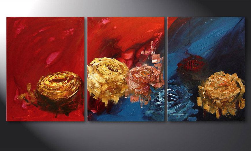 Spirit of Roses 180x80x2cm Tableau