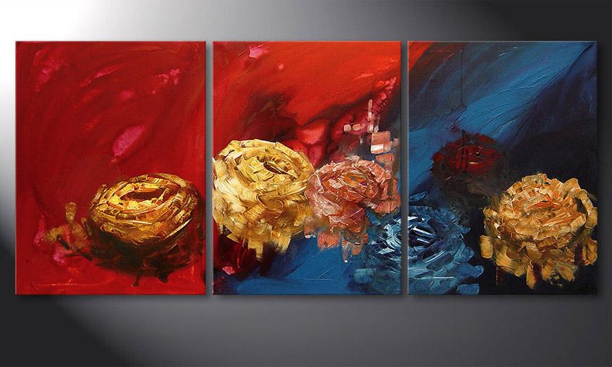 Spirit of Roses 180x80x2cm Tableau
