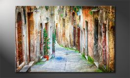 Le tableau mural<br>'Charming Alley'