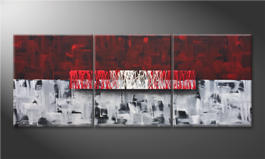 Art moderne 'Clear Thought' 180x70cm