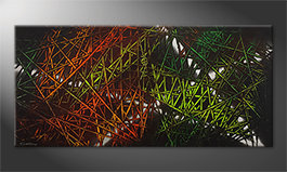 Art moderne 'Jungle Fever' 150x70cm
