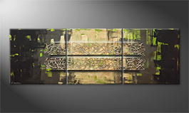 Art moderne 'Jungle Force' 210x70cm
