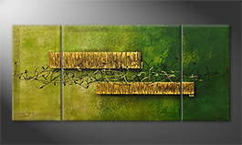 Art moderne 'Jungle Treasure' 180x80cm
