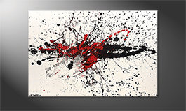 Art moderne 'Light Smash' 120x80cm