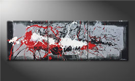 Art moderne 'Vibrations' 210x70