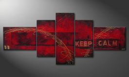 'Keep Calm' 260x110x4cm