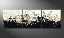 La peinture exclusive 'Big Bang' 210x70cm