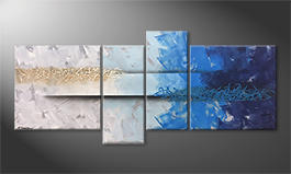 La peinture exclusive 'Caught Wave' 180x80cm