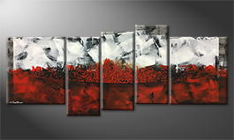 La peinture exclusive 'Fire Lane' 190x80cm