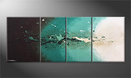 La peinture exclusive 'Fresh Splash' 180x70cm