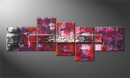 La peinture exclusive 'Glowing Fog' 240x90cm