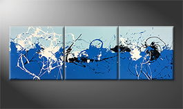 La peinture exclusive 'Ice Cold' 240x80cm