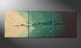 La peinture exclusive 'Into The Depth' 180x70cm