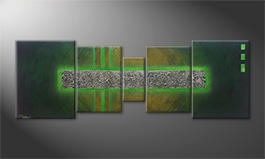 La peinture exclusive 'Jungle Treasures' 200x70cm