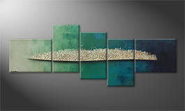 La peinture exclusive 'Liquid Frost' 240x90cm