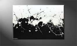 La peinture exclusive 'Liquid Shadow' 120x80cm