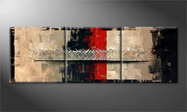 La peinture exclusive 'No Border' 210x70cm