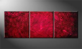 La peinture exclusive 'Red Spot' 210x80cm