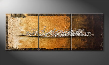 La peinture exclusive 'Silver Swing' 180x70cm