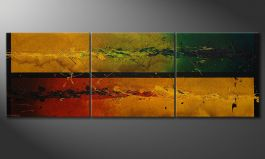 Le grand tableau 'Blowing Elements' 240x80cm