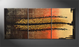 Le tableau exclusif 'Black Canyon' 180x80cm