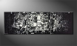 Le tableau exclusif 'Chicago' 210x70cm