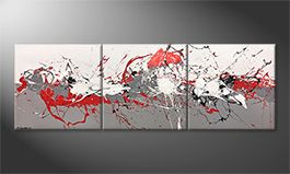 Le tableau exclusif 'Emotional Movement' 210x70cm