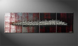 Le tableau exclusif 'Endless Way' 200x60cm