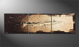 Le tableau exclusif 'Flowing Light' 210x60cm