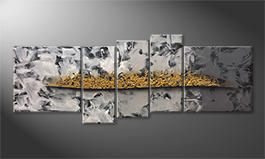 Le tableau exclusif 'Golden Moves' 210x80cm