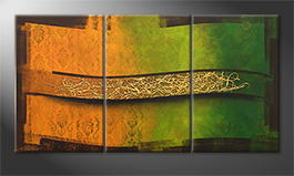 Le tableau exclusif 'Golden Spring' 180x80cm